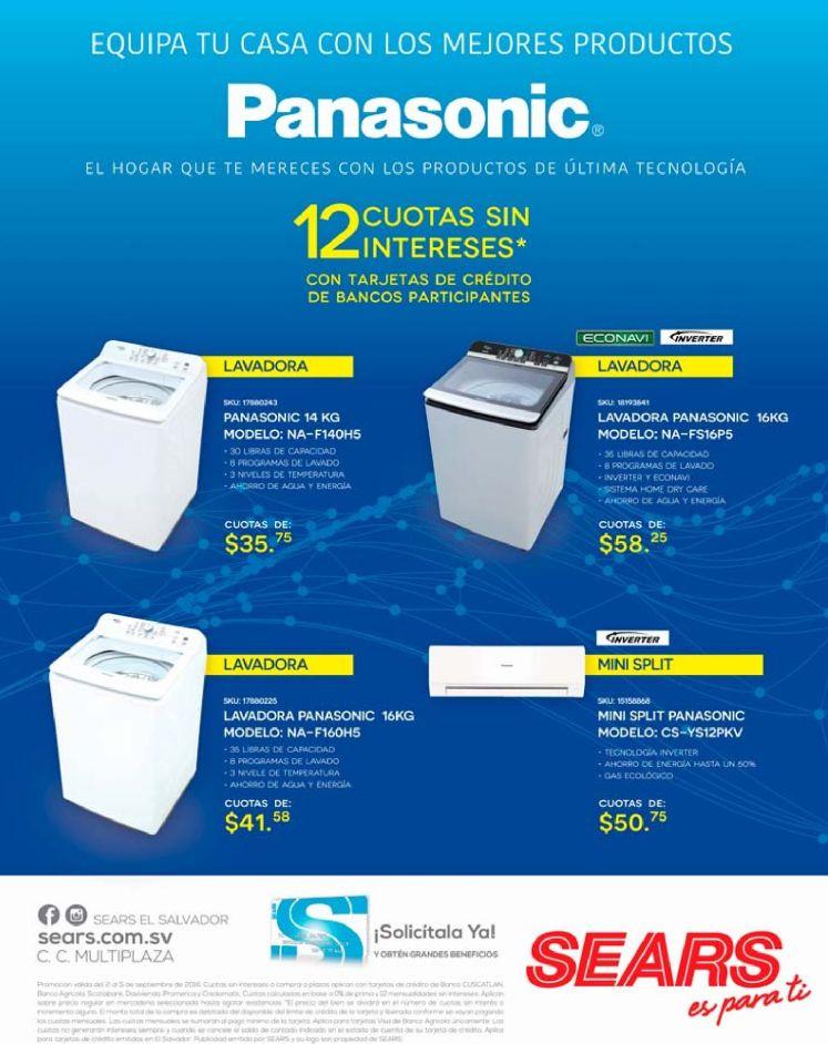 EQUIPA tu casa con electrodomesticos PANASONIC technoloy