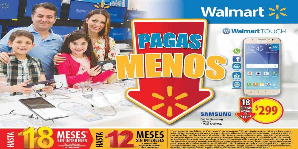 new Guía de compras Walmart (Septiembre y Octubre 2016)