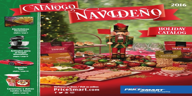 PriceSmart membership - new Holiday catalog 2016