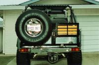 Toyota FJ40 Tire Carrier amp Cooler Rack: Off-Road.com