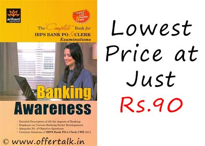 Banking Awareness Book For IBPS Clerk & PO Exam by Arihant Experts at Just Rs.90 Only discount 2
