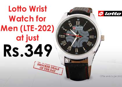 Lotto Wrist Watch for Men (LTE 202) at Just ₹ 349 Only [Lowest Online] discount 2