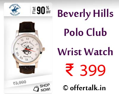 Beverly Hills Polo Club Wrist Watch at Just ₹ 399 Only [Lowest Online] mens apparel