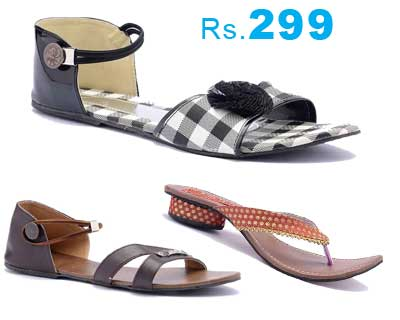 F3 Fashion For Feet Womens footwear at Rs.299   Many Options Available apparel and shoes