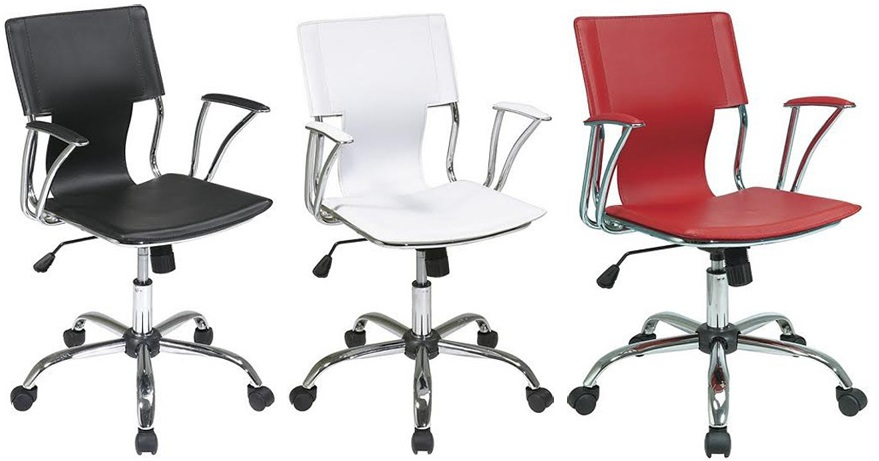 Faux Leather Office Chair