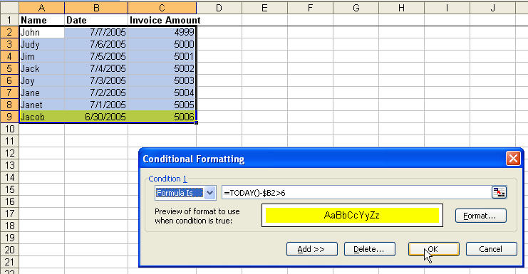 Conditional Formatting with Formulas in Microsoft Excel - Office