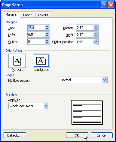 Create a Tri-Fold Brochure in Microsoft Word - Office Articles