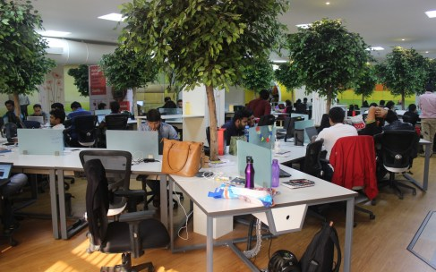 Coverfox's Office In Mumbai Is All Things Green, Clean And Fun