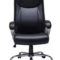 VIVA OFFICE High Back Executive Chair, Bonded Leather Office Chair Desk Chair with Pneumatic Seat Height Adjustment- Viva1272