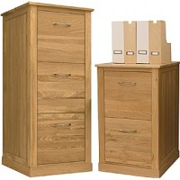 Cavalli Solid Oak Filing Cabinets | Wooden Filing Cabinets
