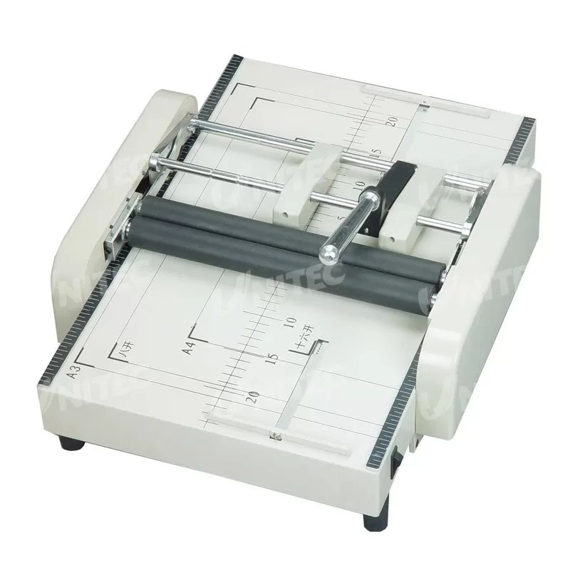 HD-ZY1 70Gsm Paper Booklet Maker , Manual Free Pamphlet Maker