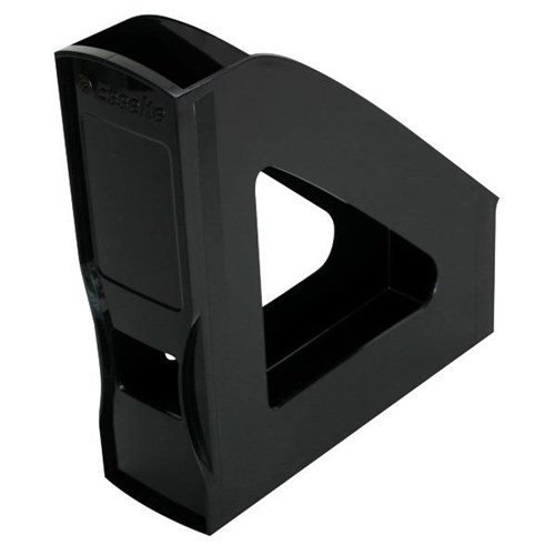 Esselte Nouveau Magazine File Rack Black Officemax Nz