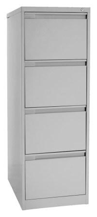 Metal Filing Cabinet 4 Drawer - Metal Storage Solutions