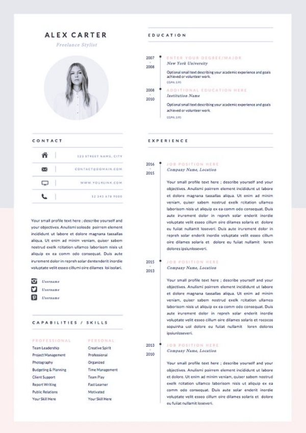 How To Make An Impressive And Professional Resume - Office Salt