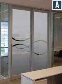 Privacy Vinyl for Glass Doors | Frosted Vinyl for ...