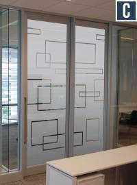 Privacy Vinyl for Glass Doors