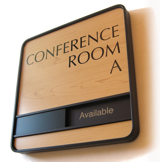 Wood Conference Room Signs Sliding Room Signs In Session Door