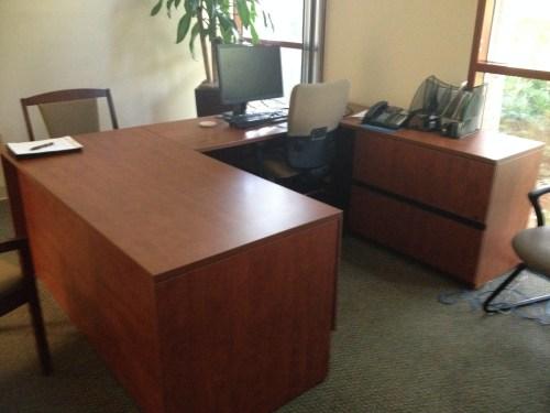 Medium Of U Shaped Desk