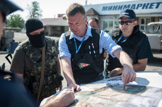 Alexander Hug, Deputy Chief Monitor of the OSCE SMM.
