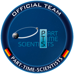 Part Time Scientists Logo 2009