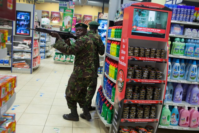 Islamist militants ambushed the Westagte mall in Nairobi, Kenya, in September 2013 killing more than 50 people and terrorizing the city. Kenyan forces tried to drive the militants out of the mall and save remaining hostages. Somalia's Al Shabab claimed responsibility for the deadliest attack in Kenya since 1998.
