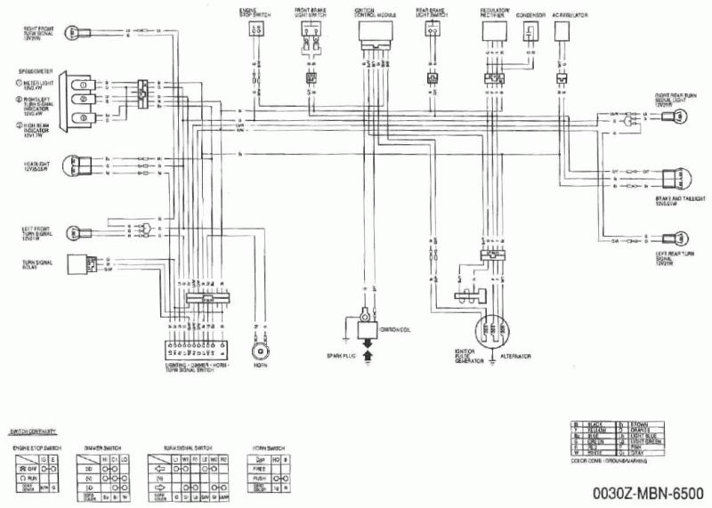 honda xr 650 wiring diagram