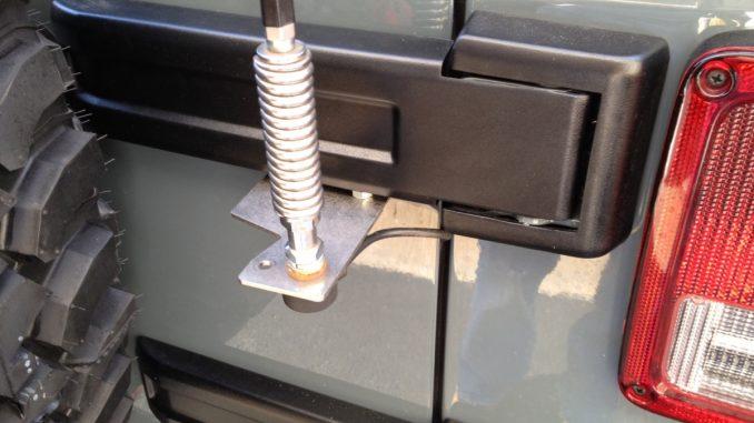 Easy DYI Jeep Wrangler JK CB Antenna Mount Offroaders