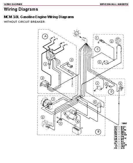 Mercruiser 4 3lx Tachometer Wiring Wiring Diagram