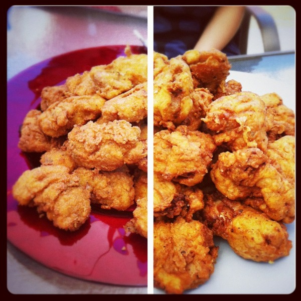 Fried chicken party