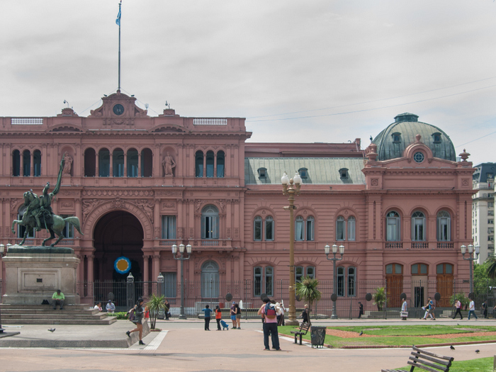 Buenos Aires - Pink Palace