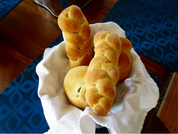 Miniature Challah Loaves