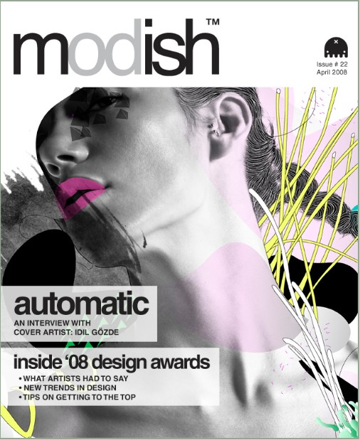 Create examples and creative ideas to make fashion magazine covers