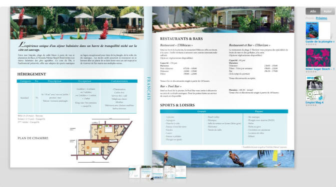 Ideas and examples for creating and designing catalogs and brochures