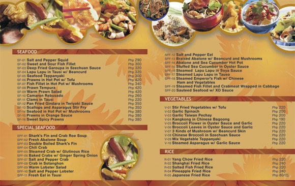 Ideas to make a restaurant menu design and restaurant menus layout