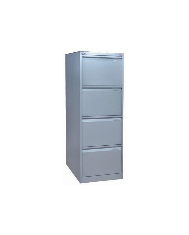 Bisley 4 Drawer Lockable Flush Fronted Filing Cabinet