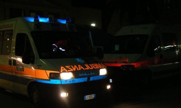 Cinquantenne ubriaca cammina sulla strada a Villanova e viene investita, é grave