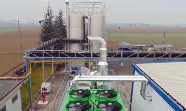 A Castelnuovo Scrivia ha iniziato a funzionare  una centrale elettrica da 600 Kw all'anno di energia elettrica e 700 di termica