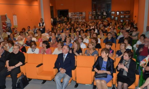 Cerimonia chiusura quinto anno accademico 2015 -2016 unitre Arquata – Grondona