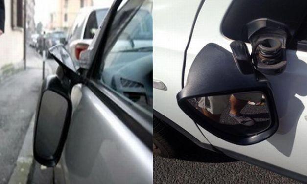 Alessandria, simulava la rottura dello specchietto per truffare soldi, denunciato dalla Polizia