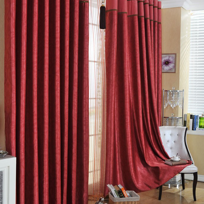 Cheap Blackout Curtains, Kids Blackout Curtains, White Blackout - red curtains for living room