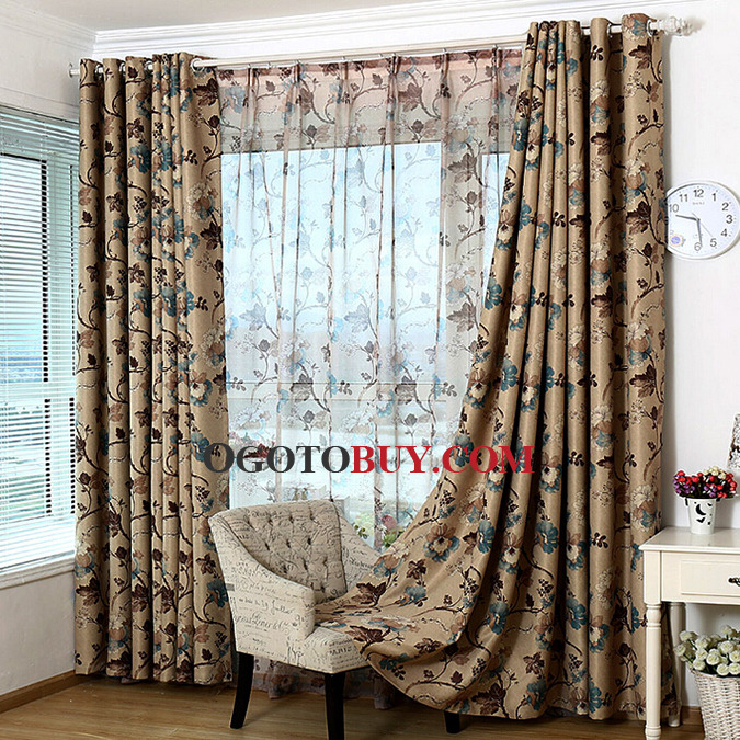 Country Style Curtains, french country curtains sale - Ogotobuy - country curtains for living room