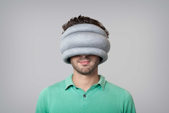New Ostrich Pillow Light Is More Portable, Still Strange