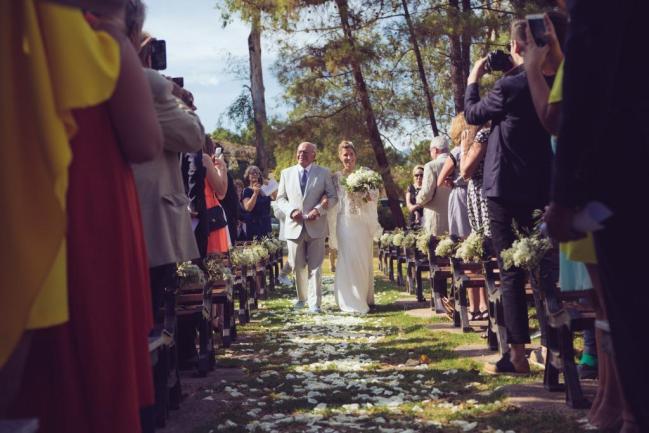 Mariage religieux plein air Corse (6)