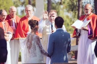 Mariage religieux plein air Corse (7)