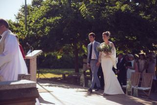 Mariage religieux plein air Corse (8)