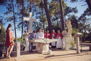 Mariage religieux plein air Corse (9)