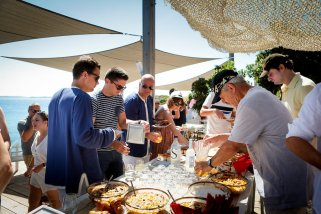 Brunch - Mariage en Corse avec Oh Happy Day