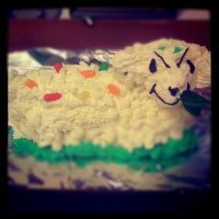 Law Firm Lamb Cake