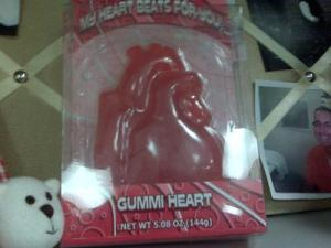 I dare you to pull out my crown, Gummi Heart.