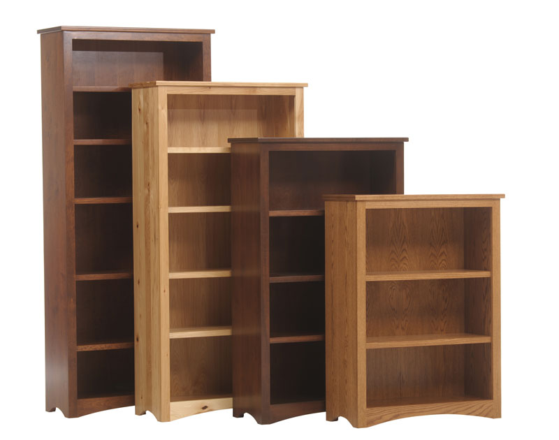 Prairie Mission Executive Bookcases Ohio Hardwood